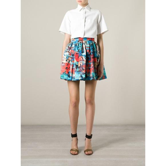 6d4ced63c54b Alice + Olivia Dresses   Skirts - ALICE + OLIVIA venetian print Butterfly  skirt